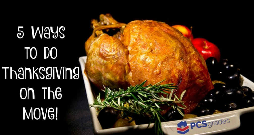 5 Ways to do Thanksgiving on the Move