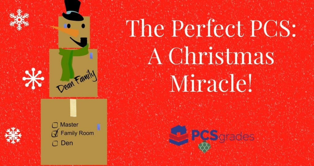 The Perfect PCS Move – A Christmas Miracle