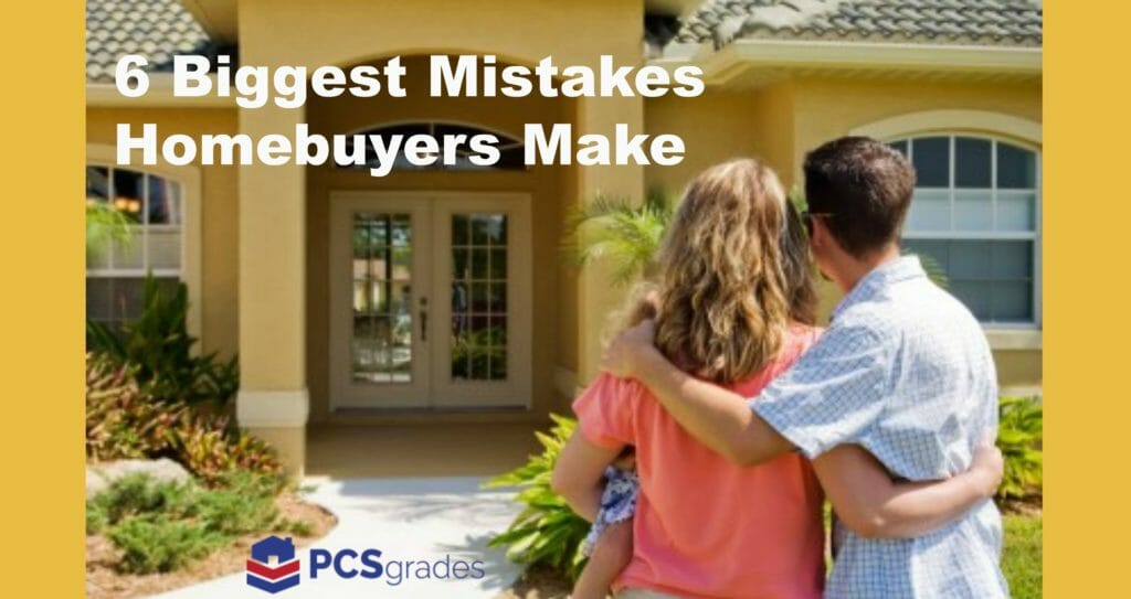 Homebuyers Mistakes