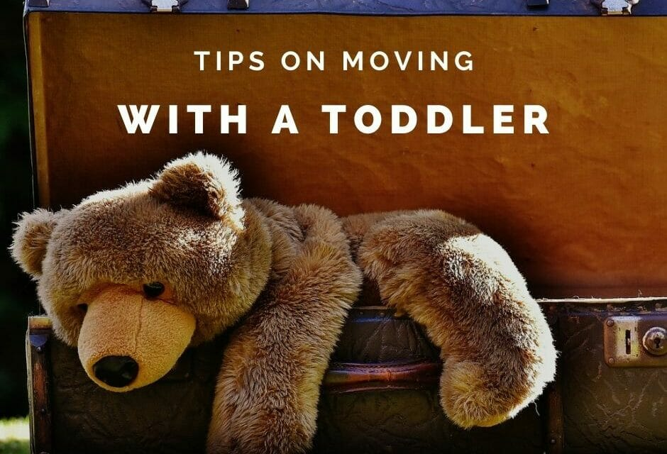 PCSing with a Toddler: How Not to Lose Your Mind