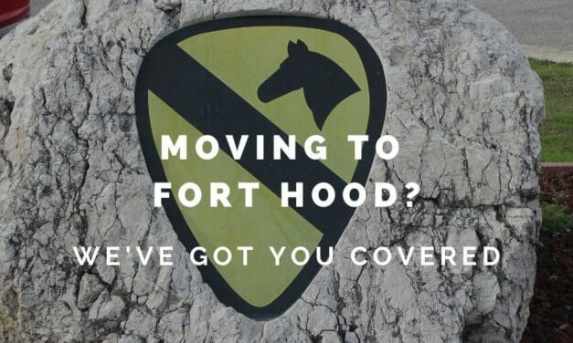 Moving to Fort Hood?