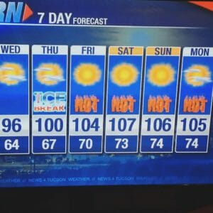 Weather Tucson
