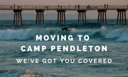 Moving to Camp Pendleton?