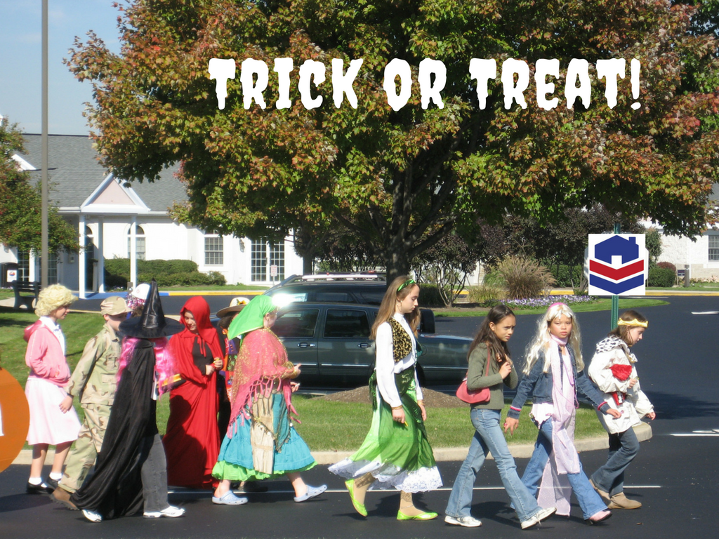 Trick-or-Treating! On Base or Out in Town?