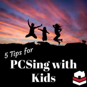 PCSing with kids