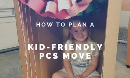 A Kid Friendly PCS