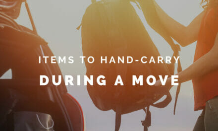 Items to Hand-Carry During a Military Move