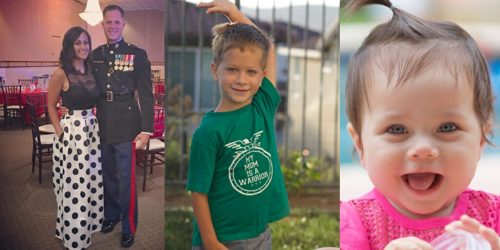 Military Kid Spotlight: Big Brother Kaden & Resiliency