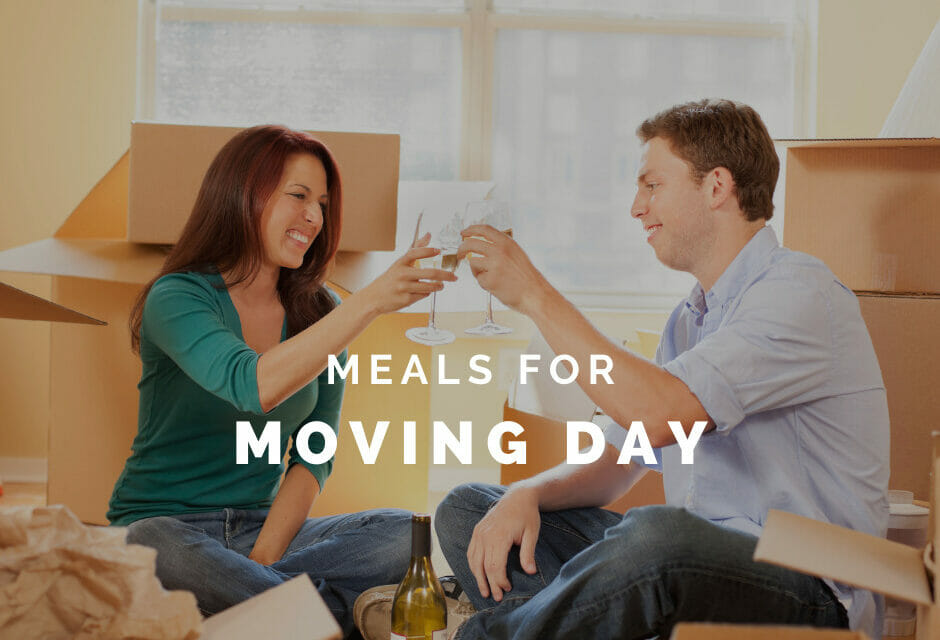 Meals for Moving Day