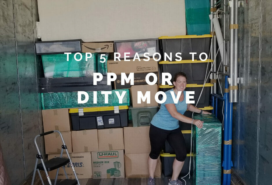 Top 5 Reasons to PPM/DITY Move