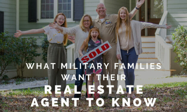 What Military Families Want Real Estate Agents to Know