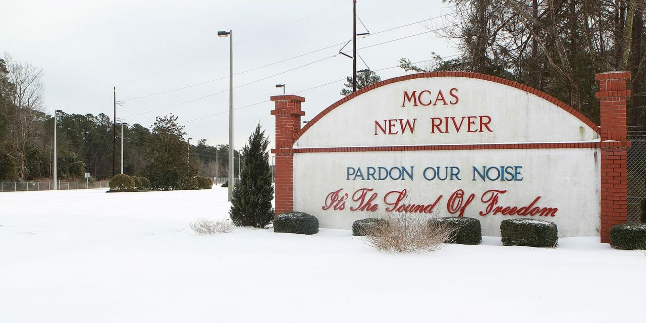 Moving to MCAS New River?