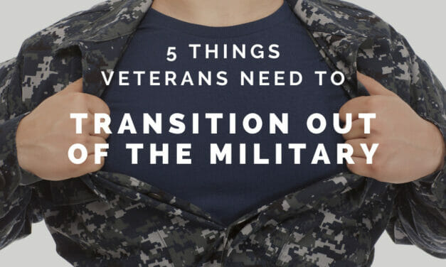 5 Things Veterans Need for a Successful Transition