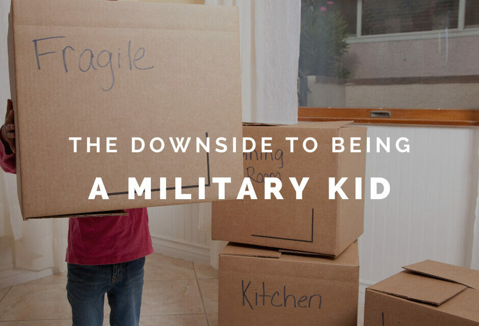 The Downside to Life as a Military Kid