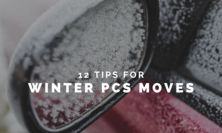 12 Tips You Need To Know Before Winter PCS Moves