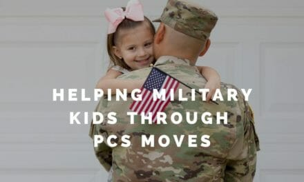 Helping Military Kids Through PCS Moves