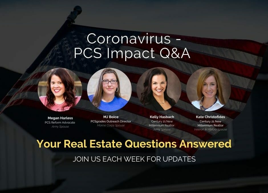 Coronavirus Real Estate Questions and Answers