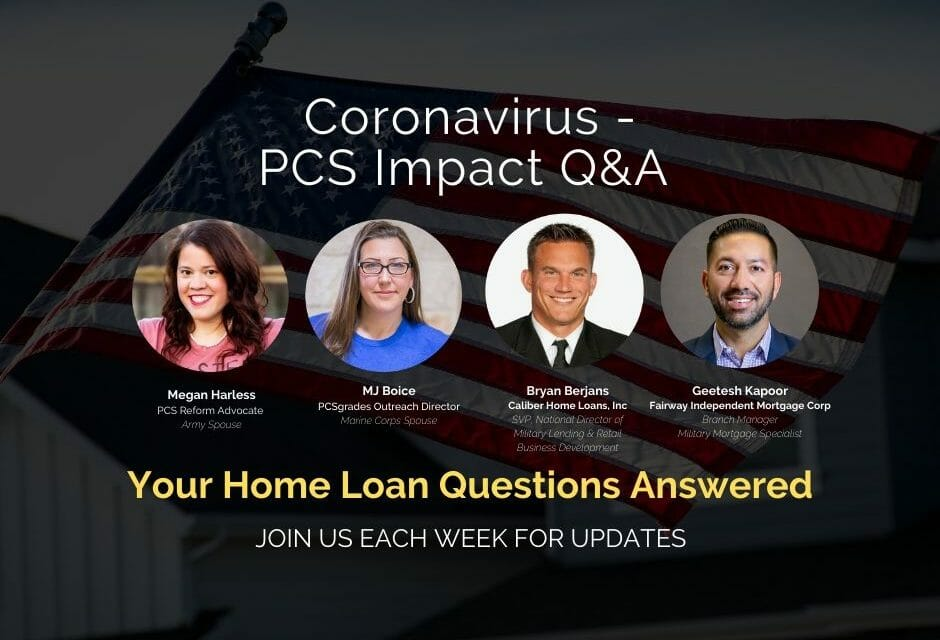 Military Family Home Loan Q&A with Lending Officers