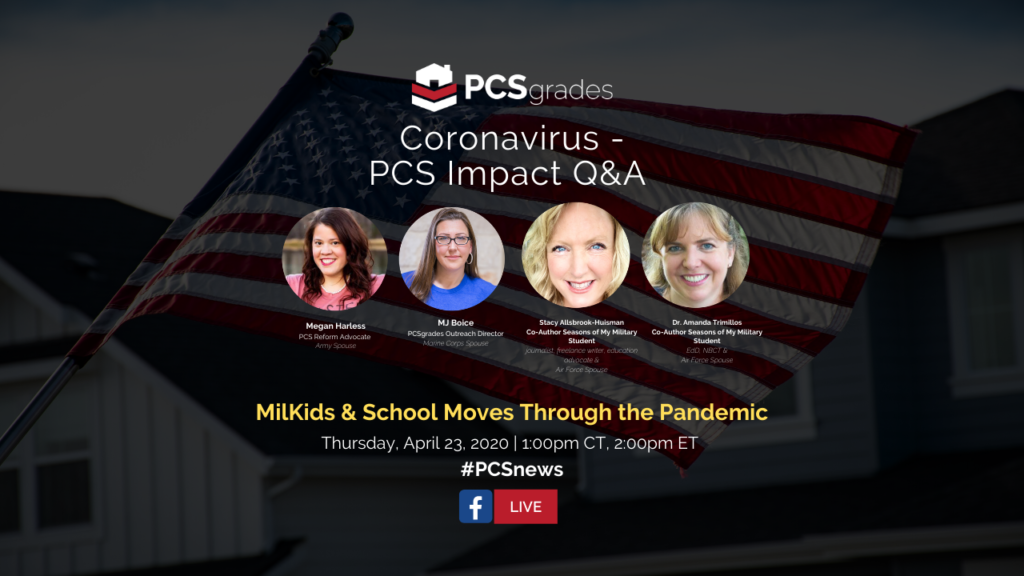 PCS Q&A: Military Kids & School Moves During COVID Pandemic
