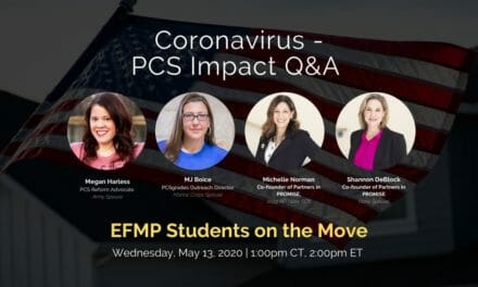Q & A about EFMP students on the move
