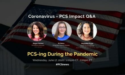 PCS Q&A: PCSing during the Pandemic