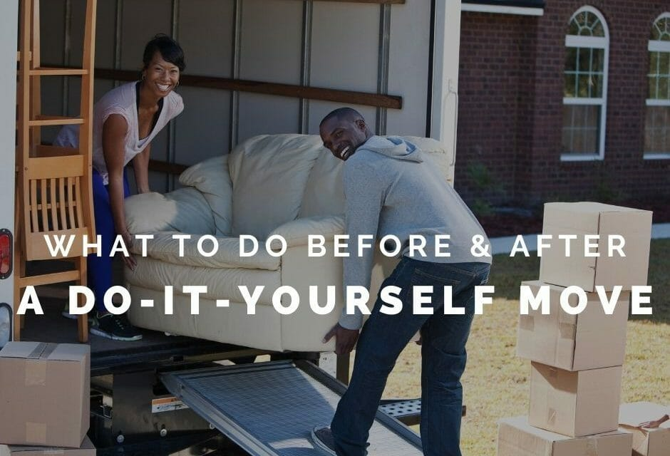 A Do it Yourself Move: What to do Before and After a PPM