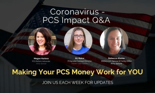 PCS Q&A: Making Your PCS Money Work for YOU