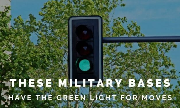 Which military installations have a green light for PCS moves?
