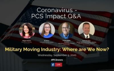 PCS Q&A: Military Moving Industry: Where are We Now?