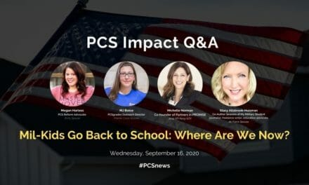 PCS Q&A: Mil-Kids Go Back to School: Where Are We Now?