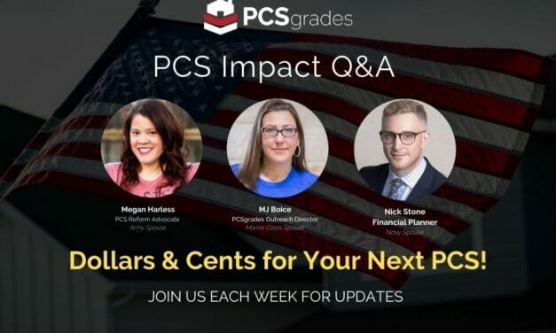 PCS Impact Q&A: Dollars and Cents for Your Next PCS