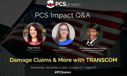 PCS Impact Q&A: Damage Claims & More with TRANSCOM