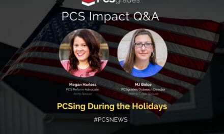 PCS Q&A: PCSing During the Holidays