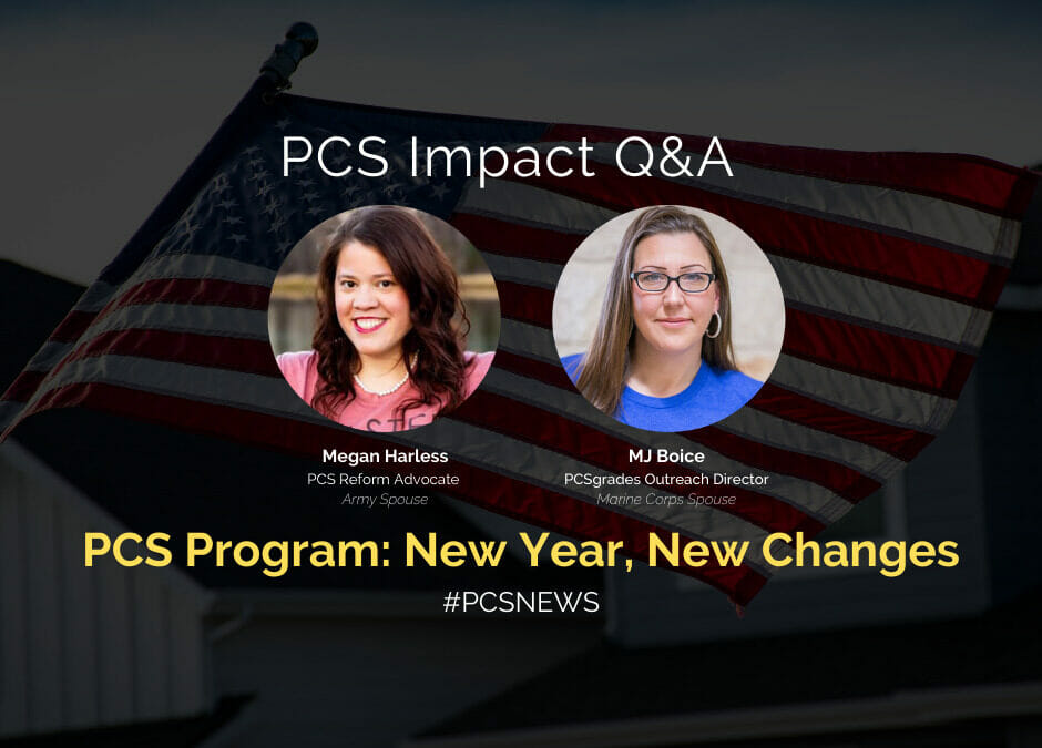 PCS Program: New Year, New Changes