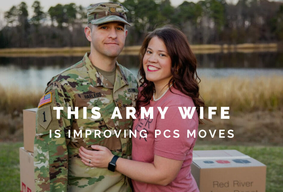 Meet the Army Wife who is Improving PCS Moves