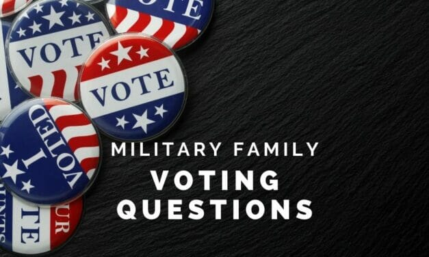 Military Voter Questions, Answered