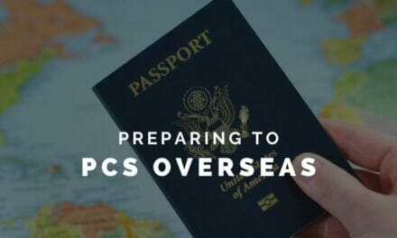 Prepare to PCS Overseas