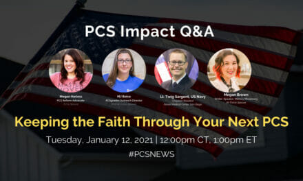 PCS Q&A: Keeping the Faith After a PCS