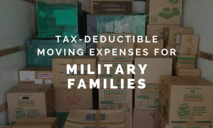 Tax Deductible Moving Expenses for Military Families