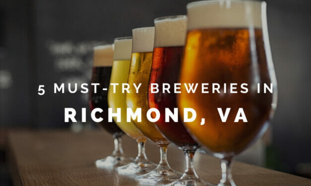 5 must-try breweries in Richmond, Virginia