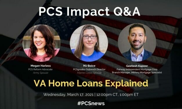 PCS Q&A: The VA Home Loan