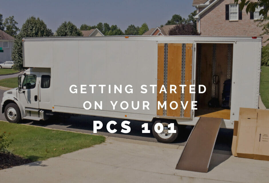 PCS 101: Getting Started on Your Move