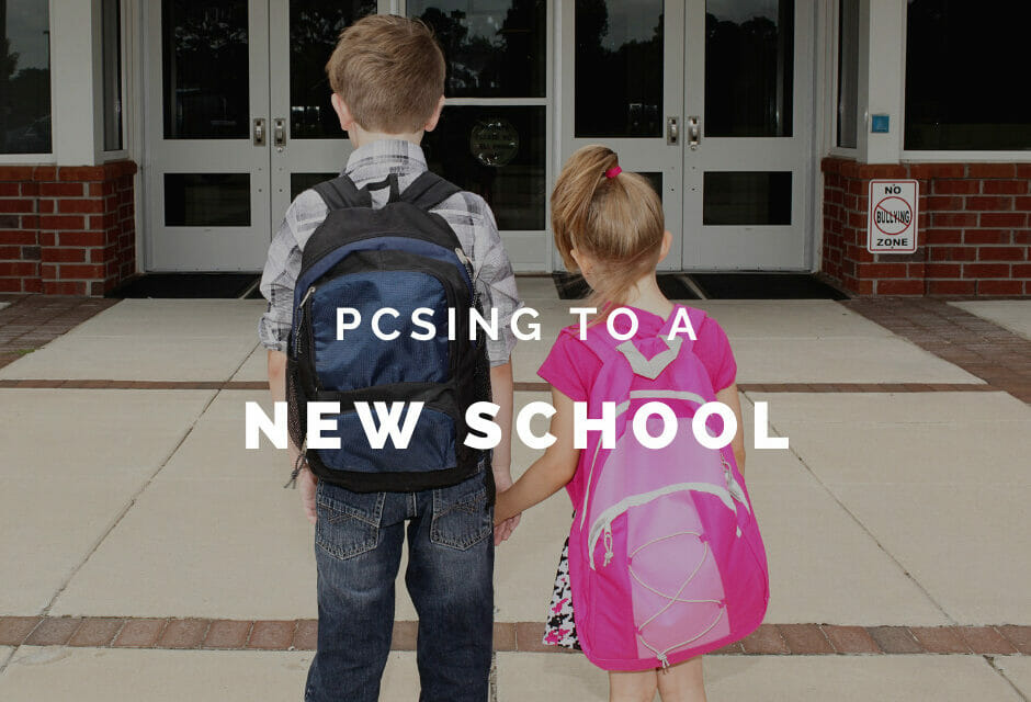 PCSing to a New School