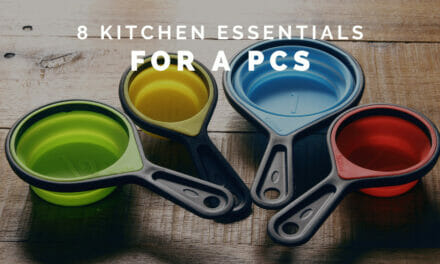 8 Kitchen Essentials to Bring With You During a PCS
