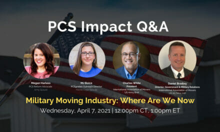 PCS Q&A: Military Moving Industry, Where Are We Now?