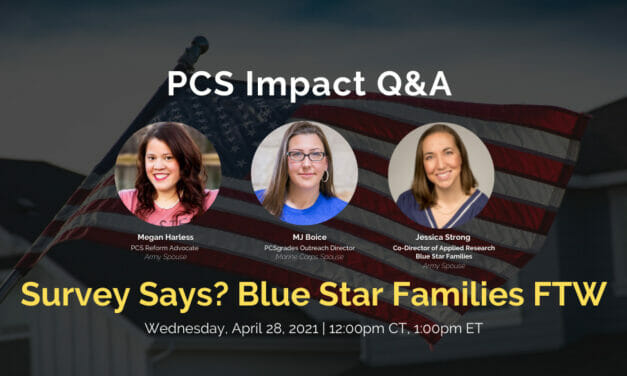 PCS Q&A: Blue Star Families Survey