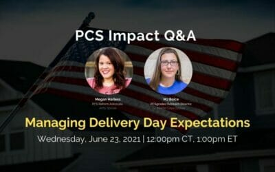 PCS Q&A: Managing Delivery Day Expectations