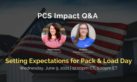 PCS Q&A: Setting Expectations for Pack & Load Day