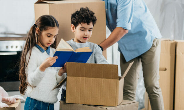 Children's Books to Help with a PCS Move